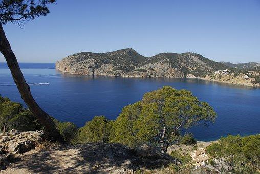 Cap Andrixol, Mallorca, Coast, Vacations, Sea, Summer