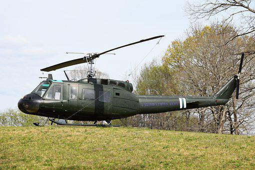 Helicopter, Vietnam, Military, Aircraft, Soldiers, Usa