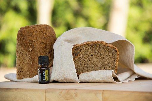 Food, Oregano, Bread, Oil, Healthy, Medicine, Glass