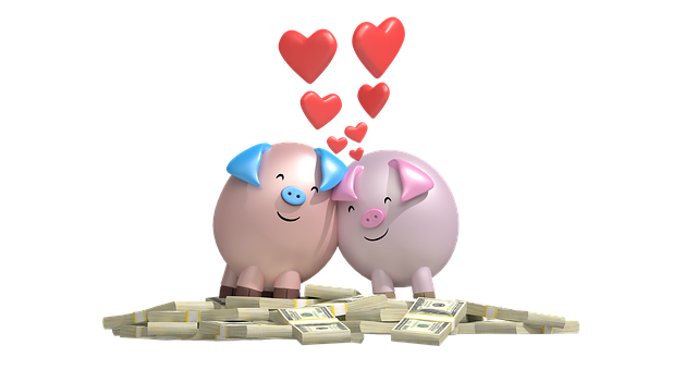Love, Money, Romance, Rich, Dollars, Cash, Together