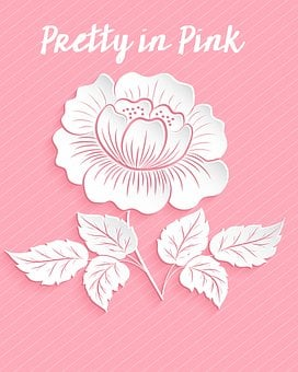 Pink Rose, Pretty In Pink, Paper Rose