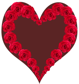 Valentine, Heart, Flowers, Red, Roses, Romantic