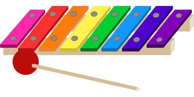 Graphic, Toy, Toy Xylophone, Xylophone