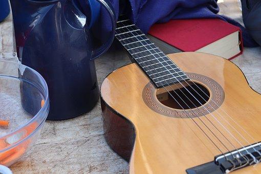 Guitar, Music, Musician, Instrument, Guitarist, Band