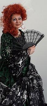 Carnival, Rococo, Rococo Lady, Carnival Costume