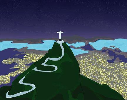 Brazil, Carnival, Rio, City, Landscape