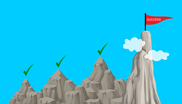 Success, Customer, Achievement, Goal, Climb, Mountain