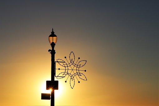 Sunset, Christmas, Larnaca, Evening