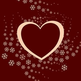 Heart Shape Frame, Love Message Note, For Lovebirds
