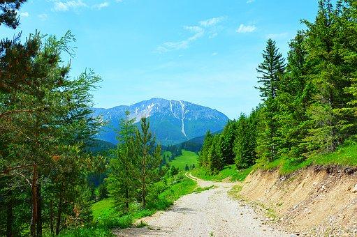 Snow Mountain, Lower Austria, Hiking, Alpine