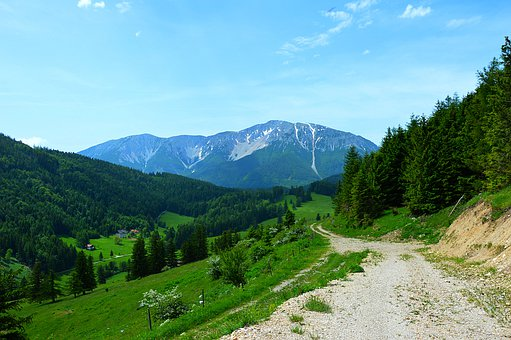 Snow Mountain, Lower Austria, Hiking