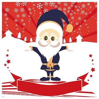 Santa Claus Suit, Merry Christmas Eve