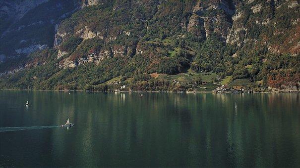 Mountain, Rocks, See, The Stage, Stone, Lake, Www