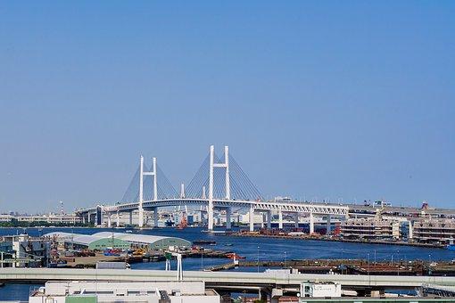 Yokohama, Yokohama Bay Bridge, Japan, Minato Mirai