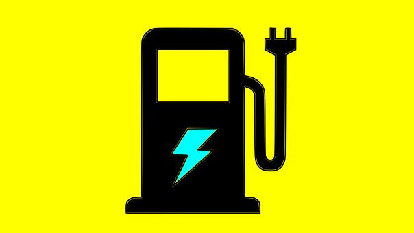 Charging Station Logo, Ev Charging Station