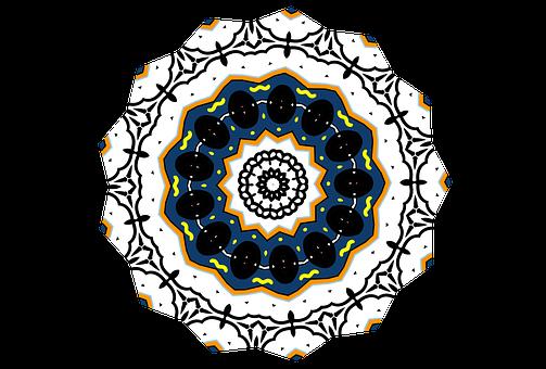 Mandala, Design, Cool, Pretty, Coloring Page