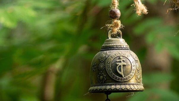 Bell, Tibetan, Asian, Tibet, Meditation, Harmony, Sound