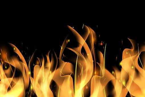 Silk, Flame, Red, Hot, Record, Oranges, Firewood, Brand