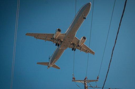 Plane, Sky, Airplane, Aircraft, Travel, Aviation