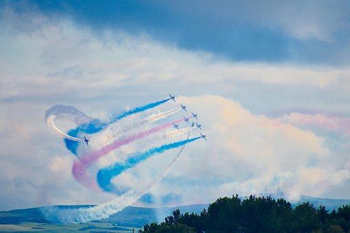 Red Arrow, Planes, Aeroplane, Plane, Jet, Aircraft