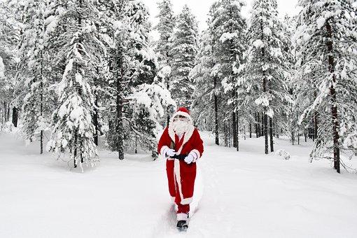 Santa Claus, Rovaniemi, Samichlaus, Santa, Xmas