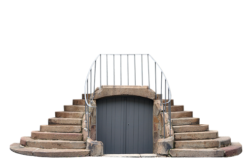 Stair, Staircase, Exterior, Gate