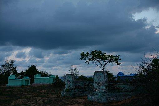 Sunset, Cemetery, Heaven, Hindi