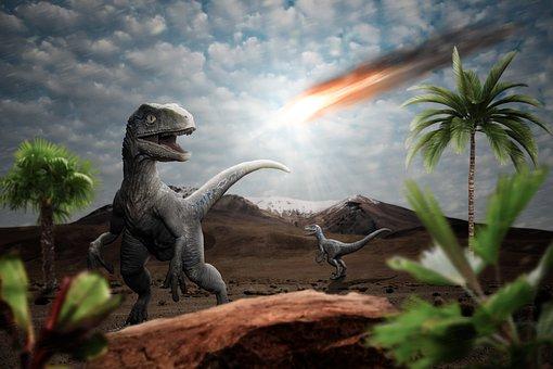 Dinosaur, Meteor, Impact, Apocalypse, Armageddon