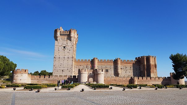 Castle, Valladolid, Spain, Architecture