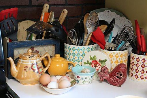 Kitchen, Utensils, Pioneer Woman, Cooking, Tea Pots