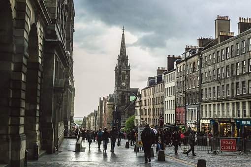 High Street, High, Street, Royal Mile