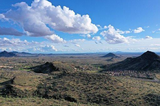 Arizona, Desert, Landscape, Nature, Usa, Rock, Cactus