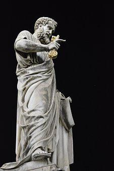 Vatican City, Rome, St Peter's, Statue, Italy, Tourism