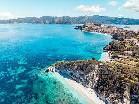Isola D'elba, Archipelago, Elba Island, Skyline
