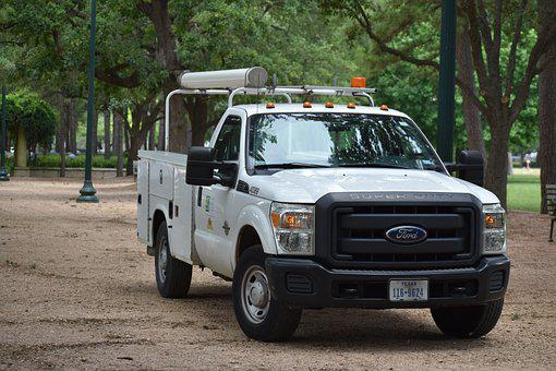 Ford, Truck, National Park, Maintenance, Utility