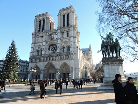 Our Lady, Paris, Cathedral, France, Architecture, City