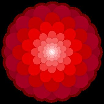 Flower, Ornament, Hearts, Petals, Graphic, Element