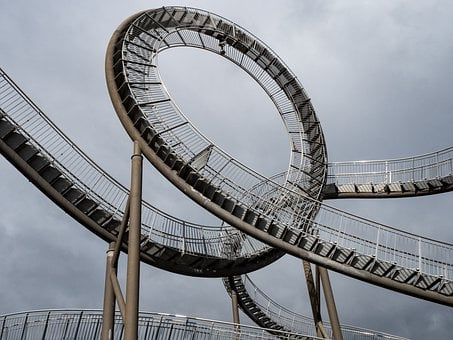 Roller Coaster, Accessible, Tiger And Turtle, Duisburg