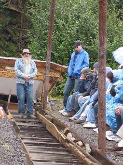 Alaska, Gold, Mining, Sluice
