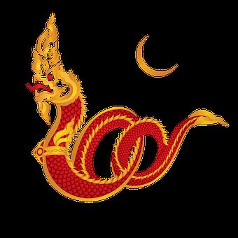 Naga, Snake, Thailand, Legend, Buddha