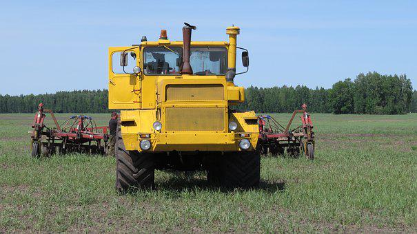 Kirovets, K700, Sowing, Plowing, Machine, Tractor