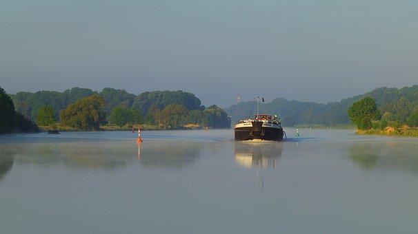 Inland Waterway Transport, River, Weser
