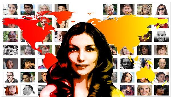 Portrait, Woman, Girl, Female, Network, Women's Network
