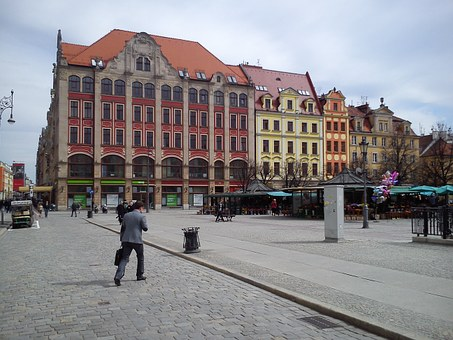 Wrocław, The Market, Little, Architecture, The Old Town