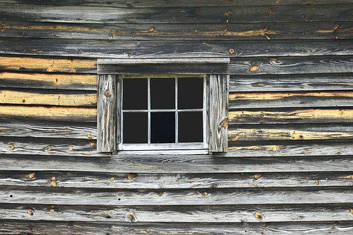 Old, Wooden, Wood, Wall, Background, Window, Retro