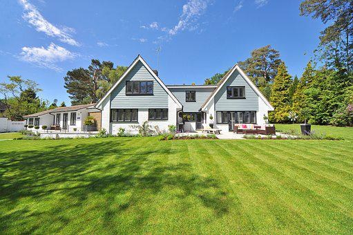 Beautiful Home, Garden, New England Style, Landscaping