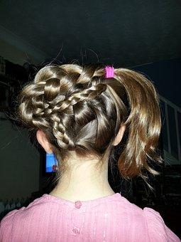 Hair, Plait, Braid, Girl, Creative, Hairdo, Hairstyle