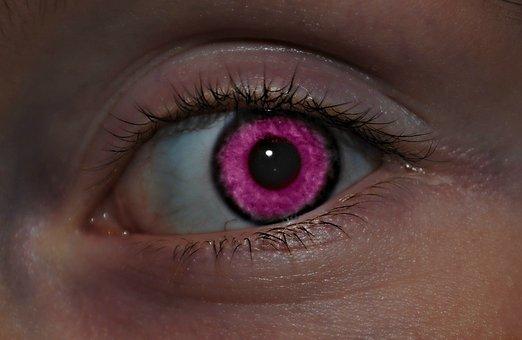 Pink, Eye, Face, Fashion, Woman, Girl, Female, Model
