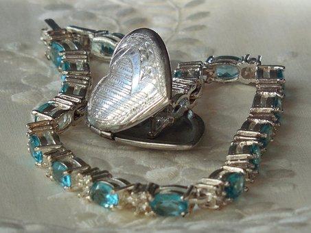 Bracelet, Locket, Jewelry, Luxury, Precious, Gem, Gift