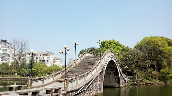 The Scenery, Fuzhou People's Park, Ishibashi
